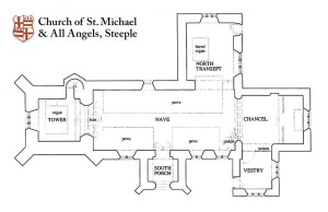 steeple-church-plan